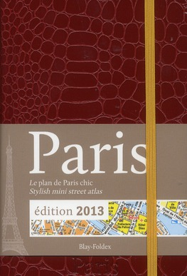 BF ATLAS PARIS MINI PLAN CHIC ROUGE