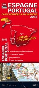 CARTE ESPAGNE PORTUGAL 2012