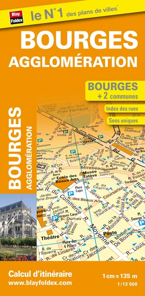 BF PLAN BOURGES