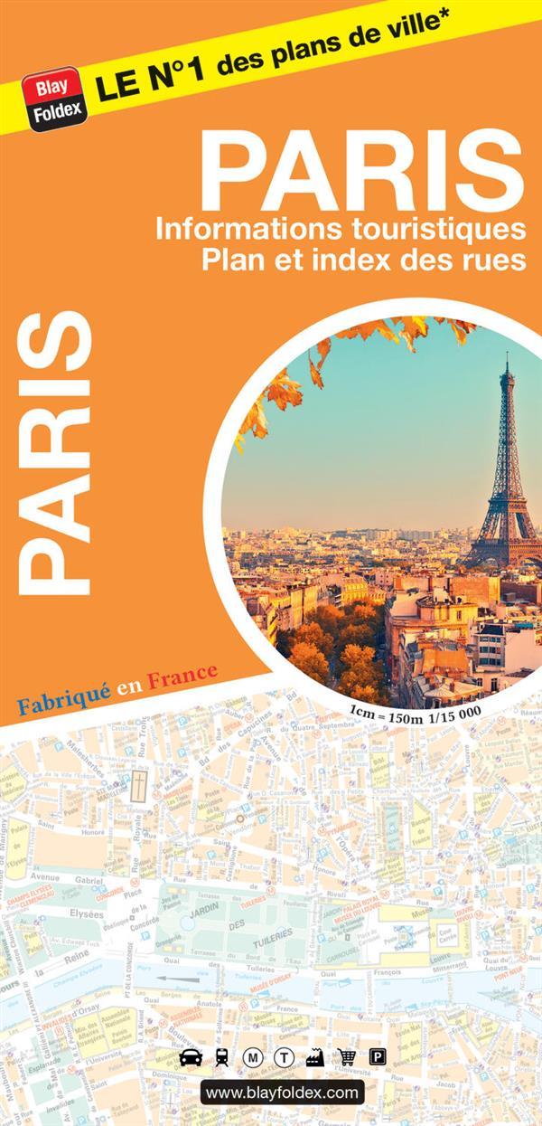 PLAN PARIS CARTE