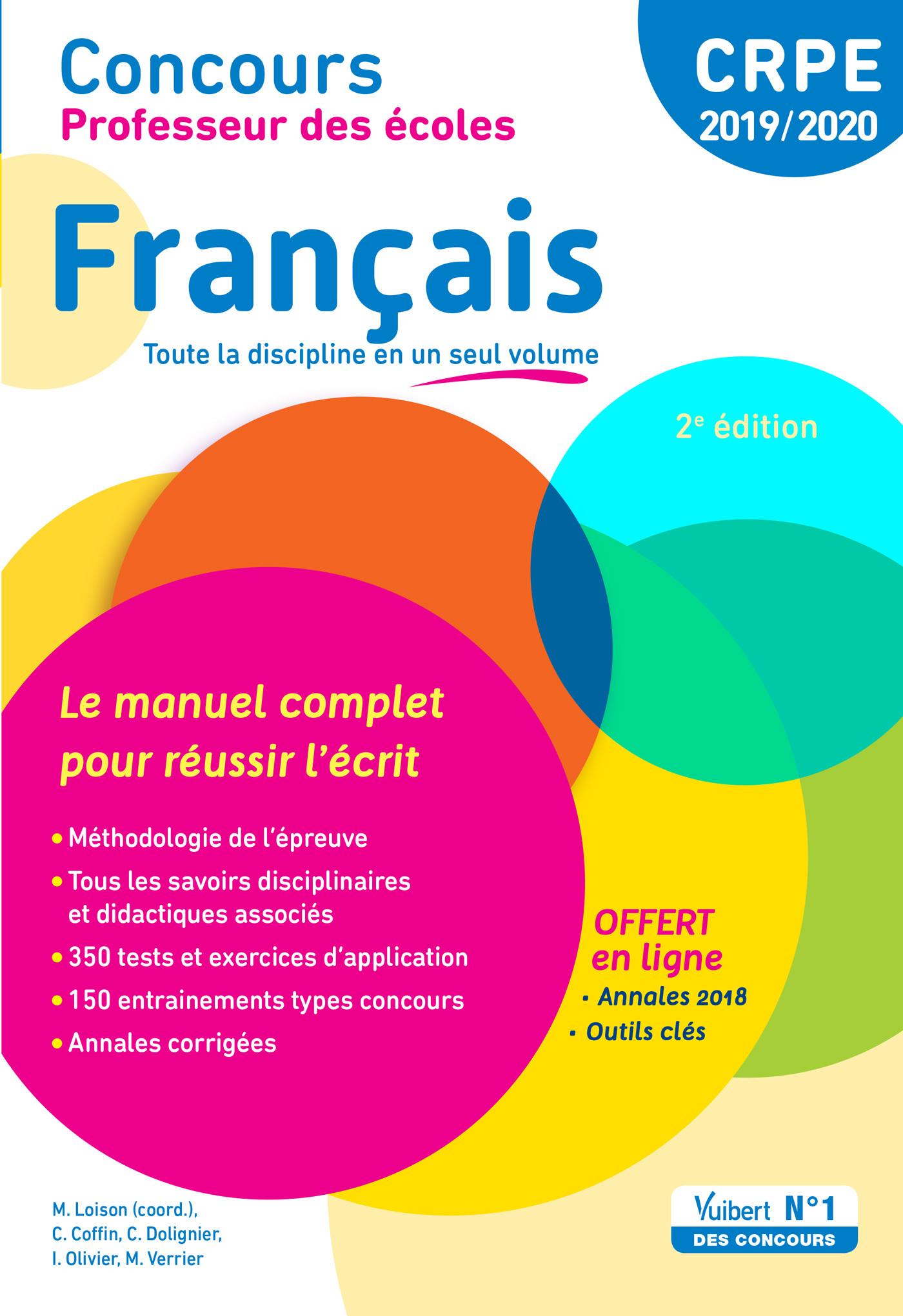 CONCOURS PROFESSEUR DES ECOLES FRANCAIS