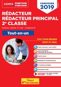 CONCOURS 2019 REDACTEUR REDACTEUR PRINCIPAL 2E CLASSE TOUT-EN-UN