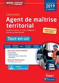 CONCOURS AGENT DE MAITRISE TERRITORIAL CATEGORIE C TOUT-EN-UN 2ED