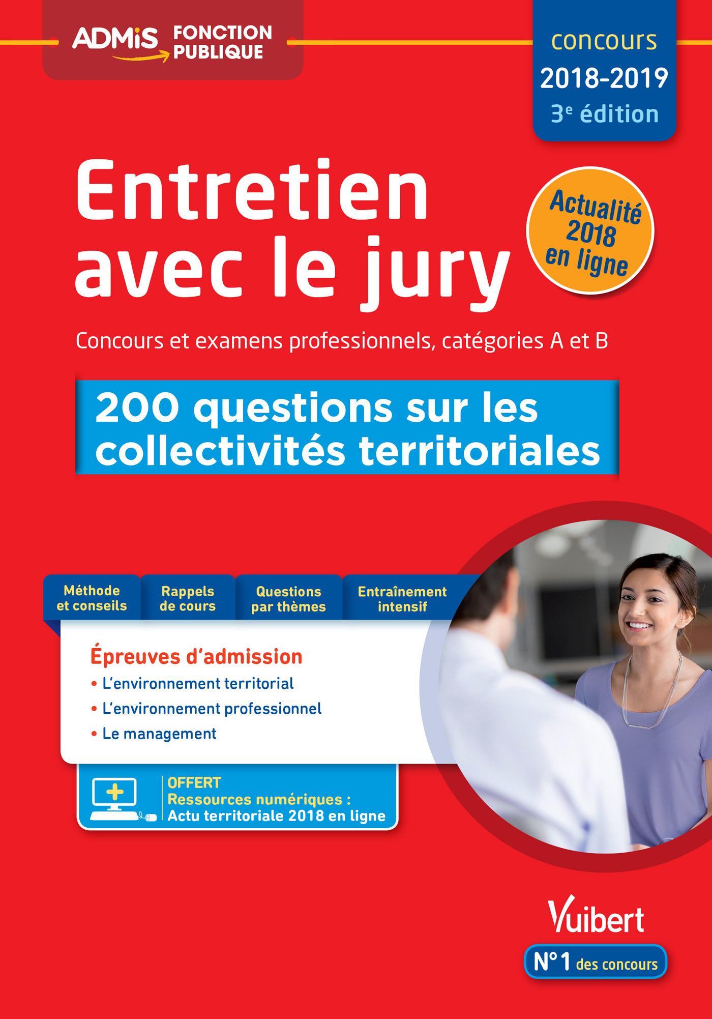 ENTRETIEN AVEC JURY 200 QUESTIONS SUR COLLECTIVITES TERRITORIALES CAT A ET B
