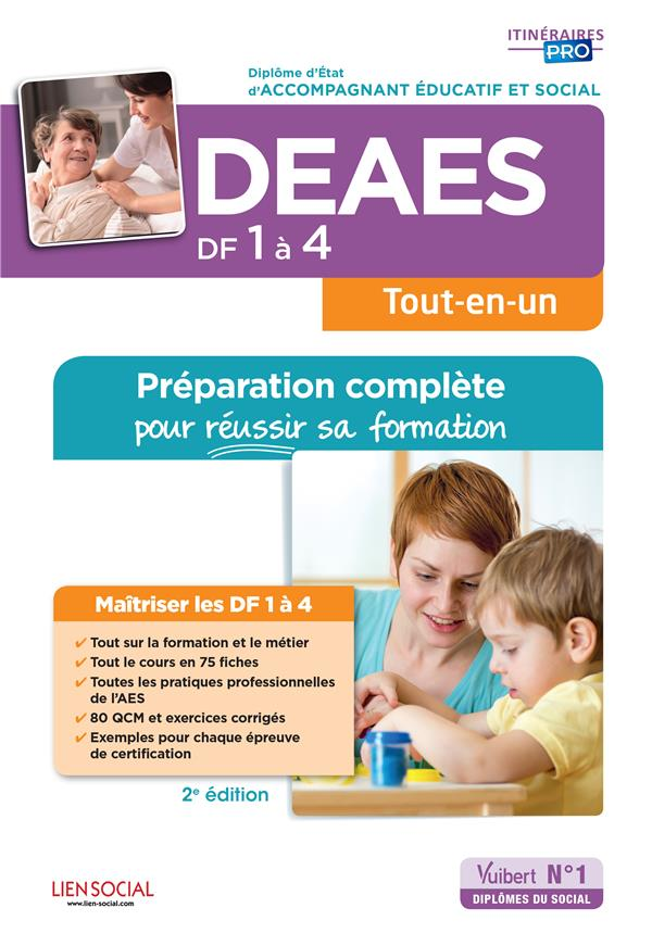 DEAES DF 1 A 4 PREPARATION COMPLETE POUR REUSSIR SA FORMATION
