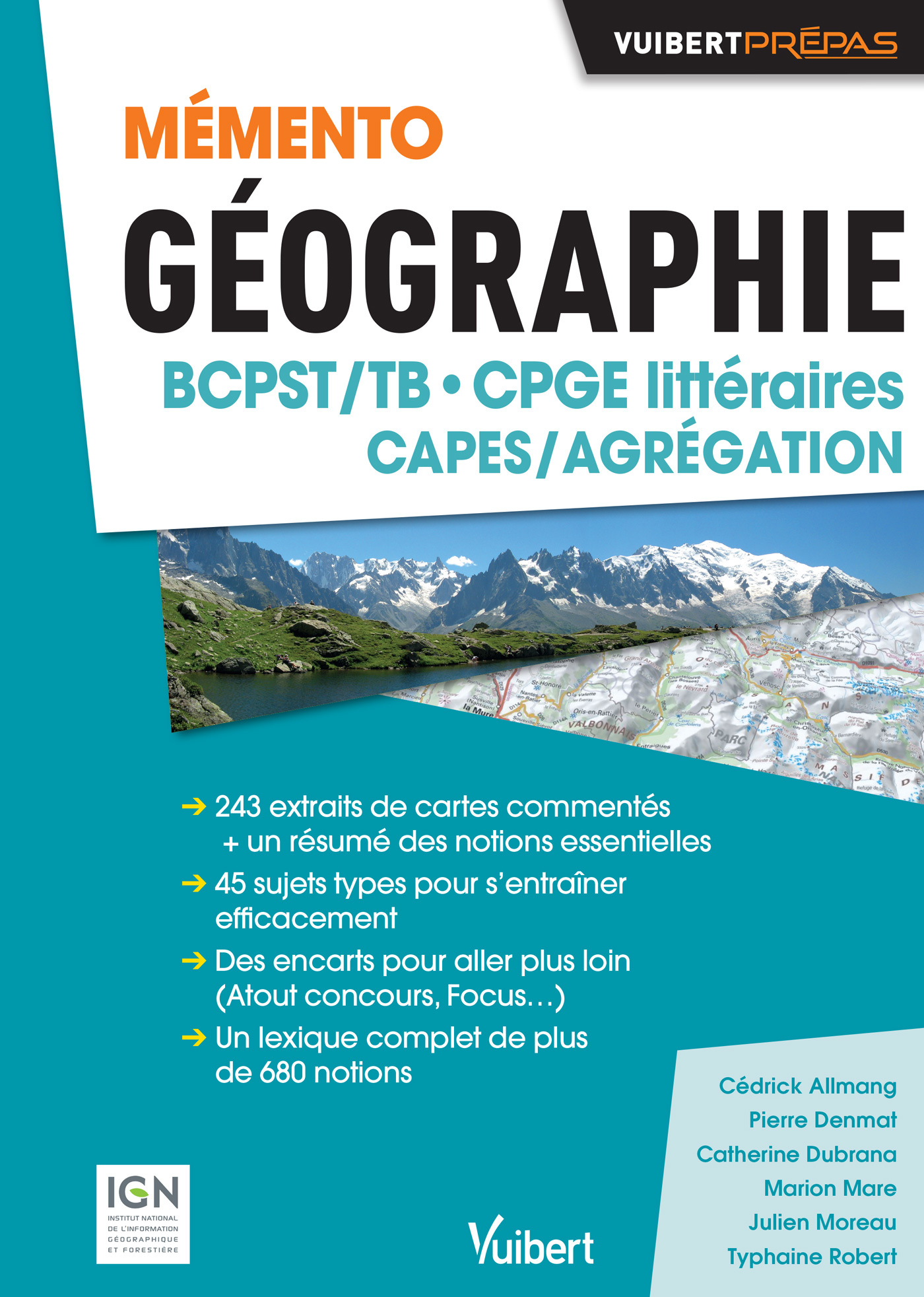 MEMENTO GEOGRAPHIE BCPST/TB CPGE LITTERAIRES CAPES/AGREGATION