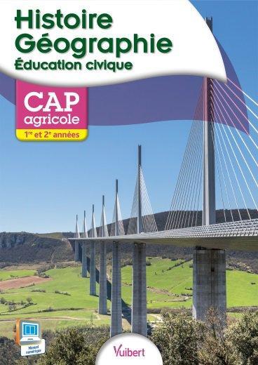 HISTOIRE GEOGRAPHIE EDUCATION CIVIQUE 1E 2E ANNEE CAPA