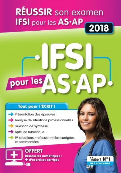 COUCOURS IFSI POUR LES AS AP 2018 8E EDT
