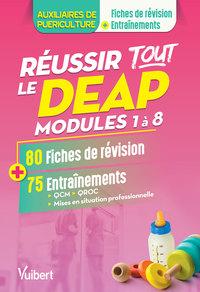 REUSSIR TOUT LE DEAP MODULES 1 A 8 80 FICHES DE REVISION ET 75 ENTRAINEMENTS