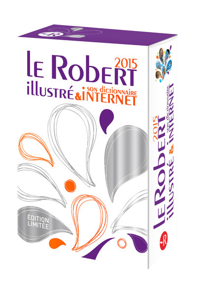 LE ROBERT ILLUSTRE 2015 & SON DICTIONNAIRE INTERNET (ORANGE)
