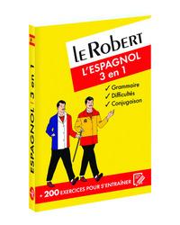 LE ROBERT L'ESPAGNOL 3 EN 1 (NOUVELLE COUVERTURE)