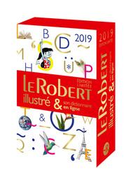 LE ROBERT ILLUSTRE ET SON DICTIONNAIRE INTERNET 2019 + CLE  FIN