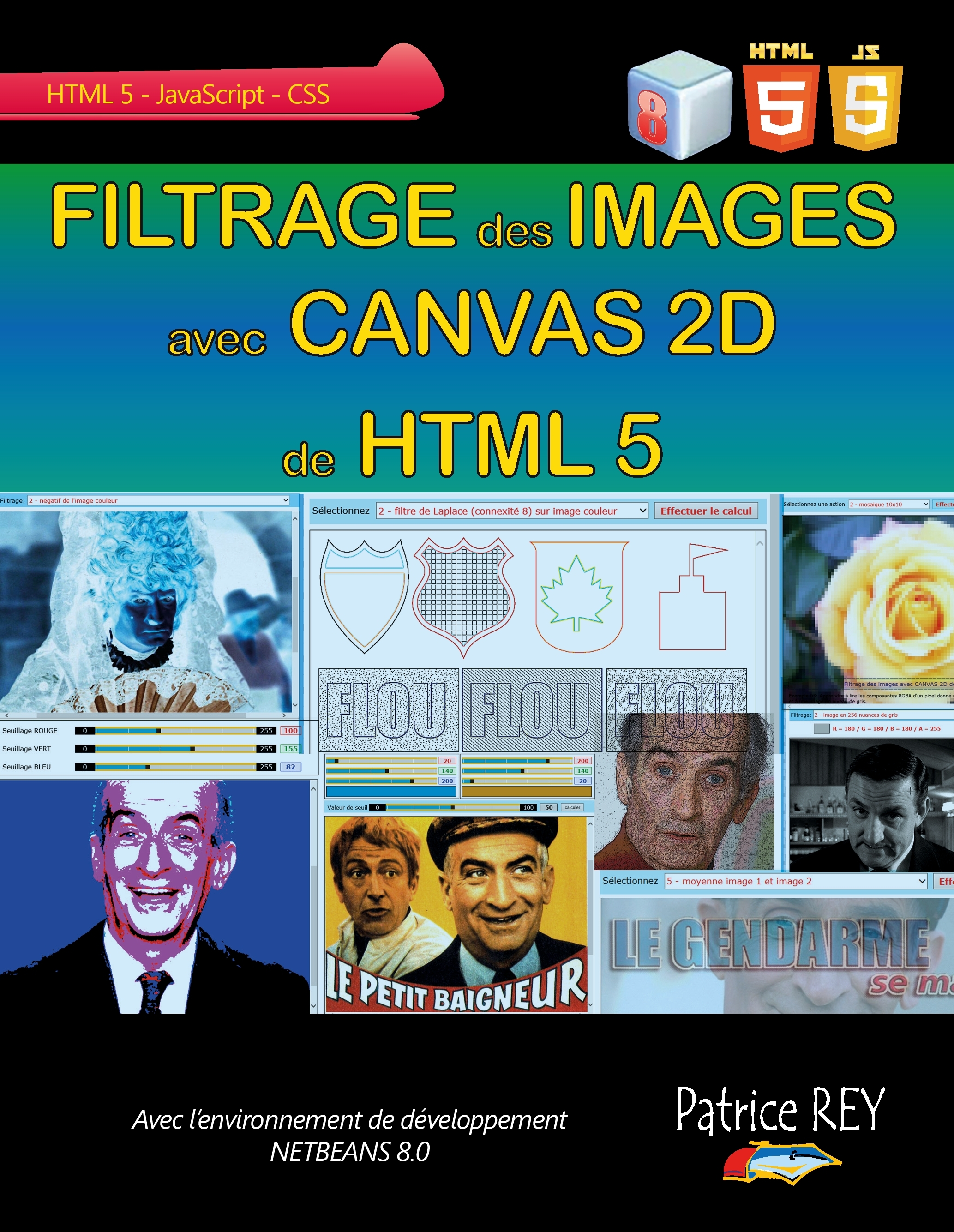 FILTRAGE DES IMAGES AVEC L'ELEMENT CANVAS 2D DE HTML 5