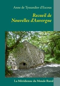 RECUEIL NOUVELLES D AUVERGNE
