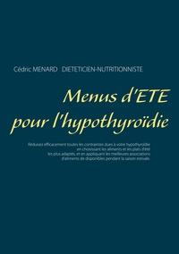 MENUS D ETE POUR L HYPOTHYROIDIE