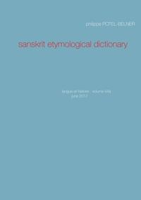 SANSKRIT ETYMOLOGICAL DICTIONARY