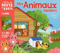 MA BOITE D'EVEIL: MES ANIMAUX FAMILIERS (COFFRET CARTES A LACER)