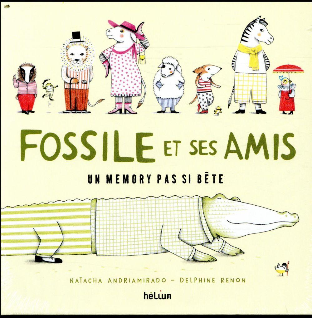 (PVC 13,90E) MEMORY DE FOSSILE LE CROCODILE ET SES AMIS