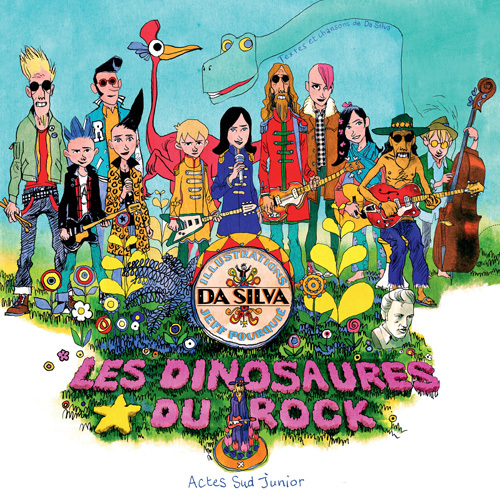 LES DINOSAURES DU ROCK + CD