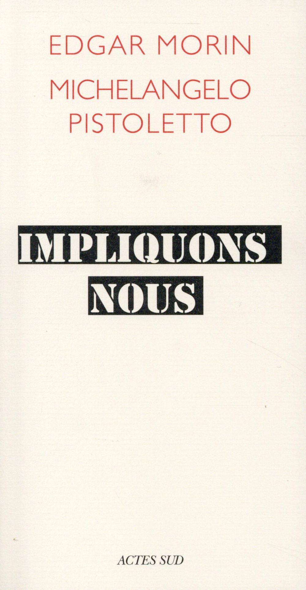 IMPLIQUONS-NOUS DIALOGUE POUR LE SIECLE