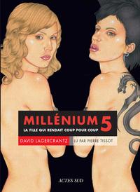 MILLENIUM 5 (LIVRE AUDIO) LA FILLE QUI RENDAIT COUP POUR COUP