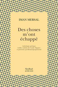 DES CHOSES M'ONT ECHAPPE