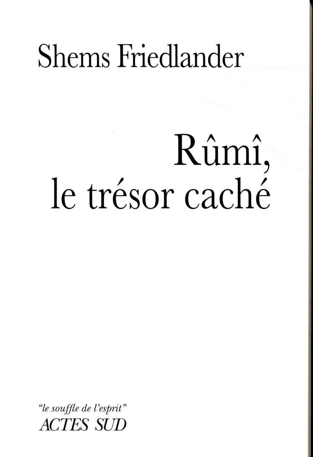 RUMI LE TRESOR CACHE
