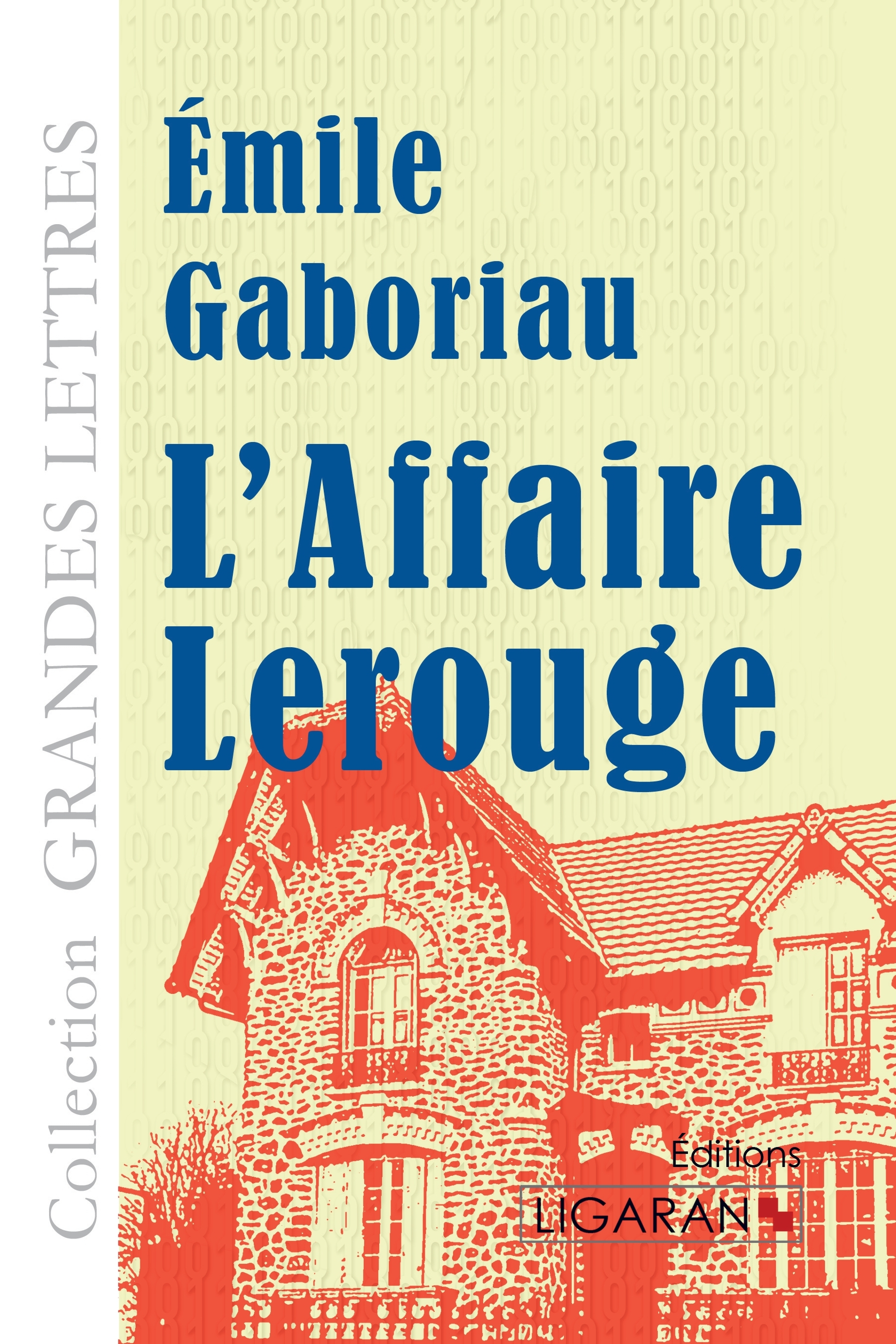 L AFFAIRE LEROUGE GRANDS CARACTERES