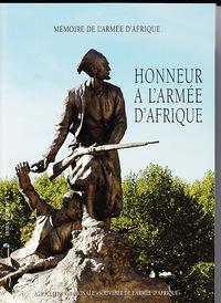 HONNEUR A L'ARMEE D'AFRIQUE