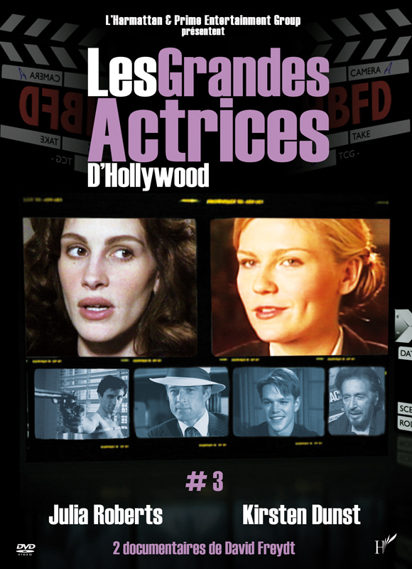 DVD LES GRANDES ACTRICES D'HOLLYWOOD 3 ROBERTS DUNST