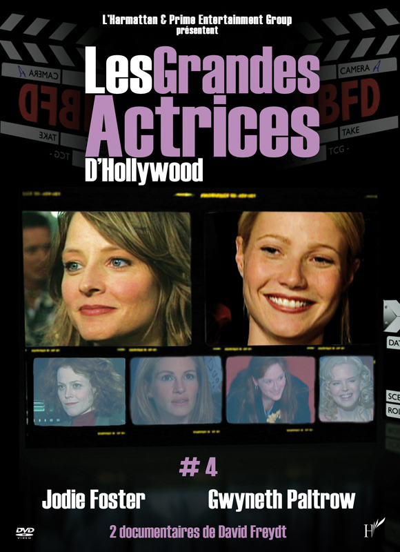 DVD LES GRANDES ACTRICES D'HOLLYWOOD 4 FOSTER PALTROW
