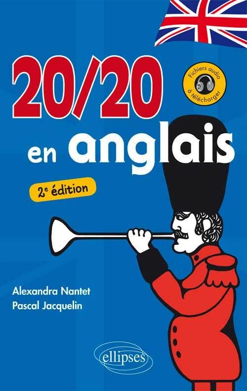 20/20 EN ANGLAIS 2E EDITION AVEC FICHIERS AUDIO