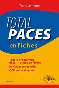 TOTAL PACES EN FICHES TOUT LE PROGRAMME DE LA 1RE ANNEE EN FICHES REVISIONS SEQUENCEES QCM ENTRAINE.