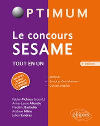 LE CONCOURS SESAME 3 EDITION