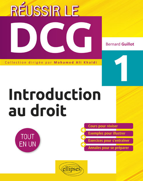 UE1 INTRODUCTION AU DROIT UE1