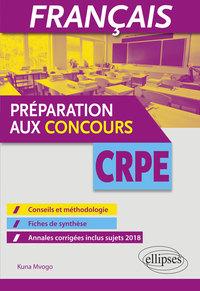 FRANCAIS PREPARATION AUX CONCOURS CRPE