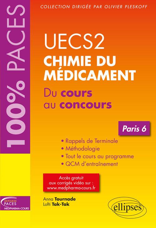 UECS2 CHIMIE DU MEDICAMENT PARIS 6