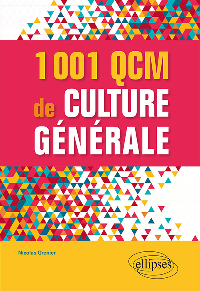1001 QCM DE CULTURE GENERALE