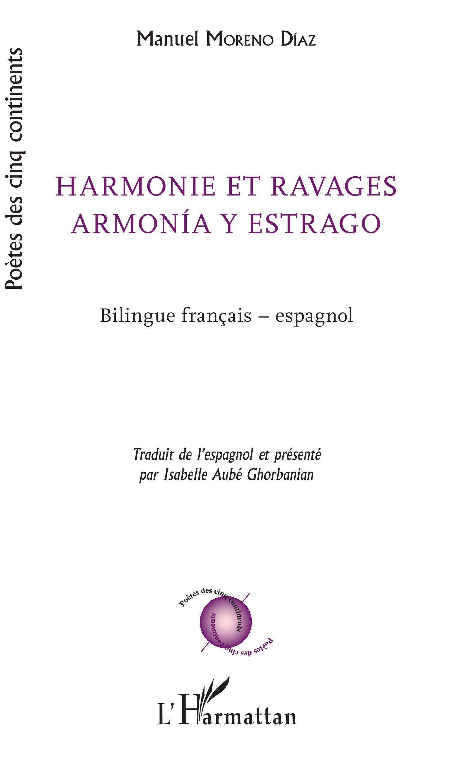 HARMONIE ET RAVAGES - ARMONIA Y ESTRAGO - BILINGUE FRANCAIS - ESPAGNOL
