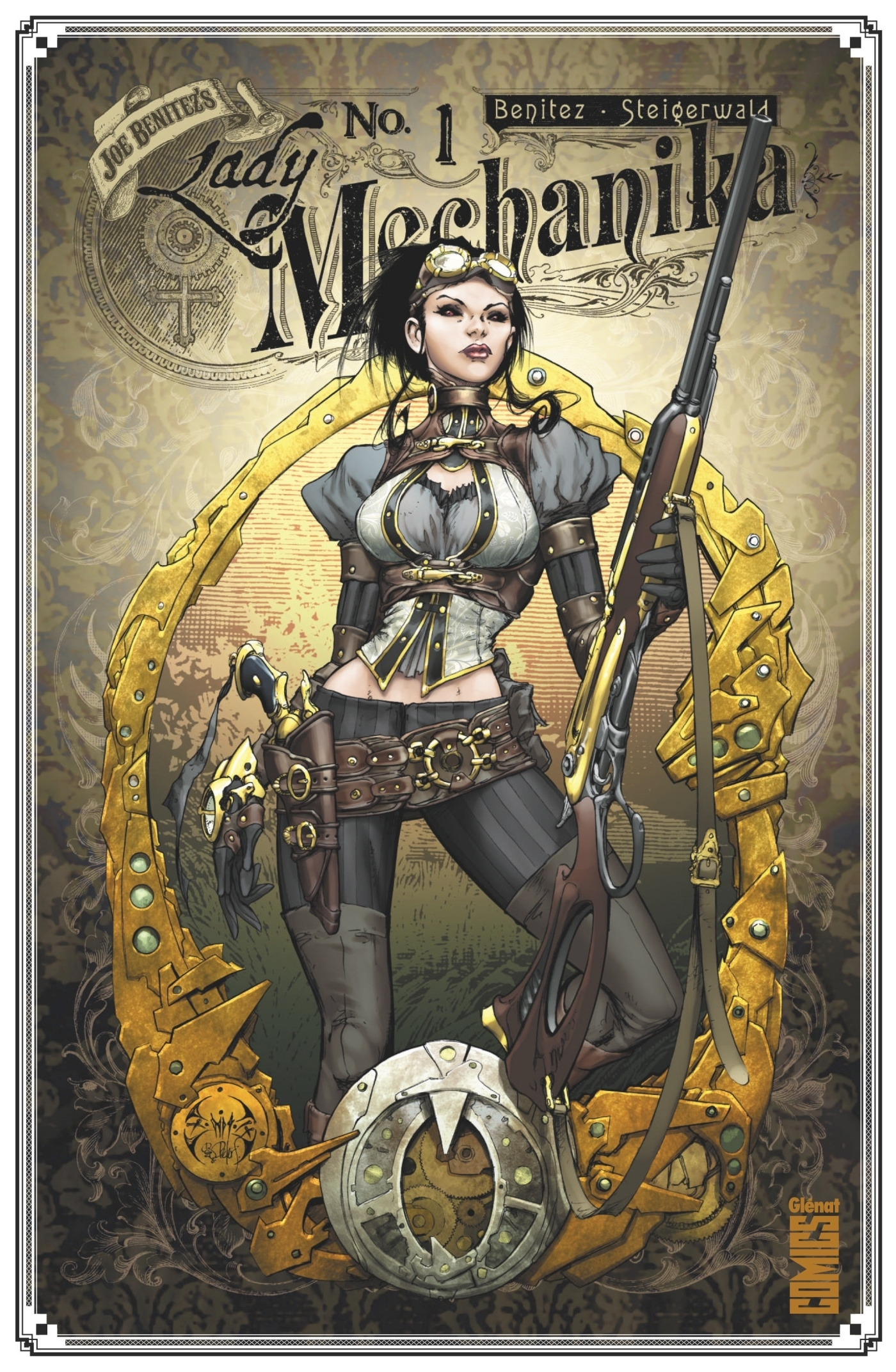 LADY MECHANIKA - TOME 01