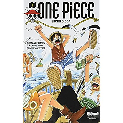 GLENAT ONE PIECE PACK T1 T2 2017
