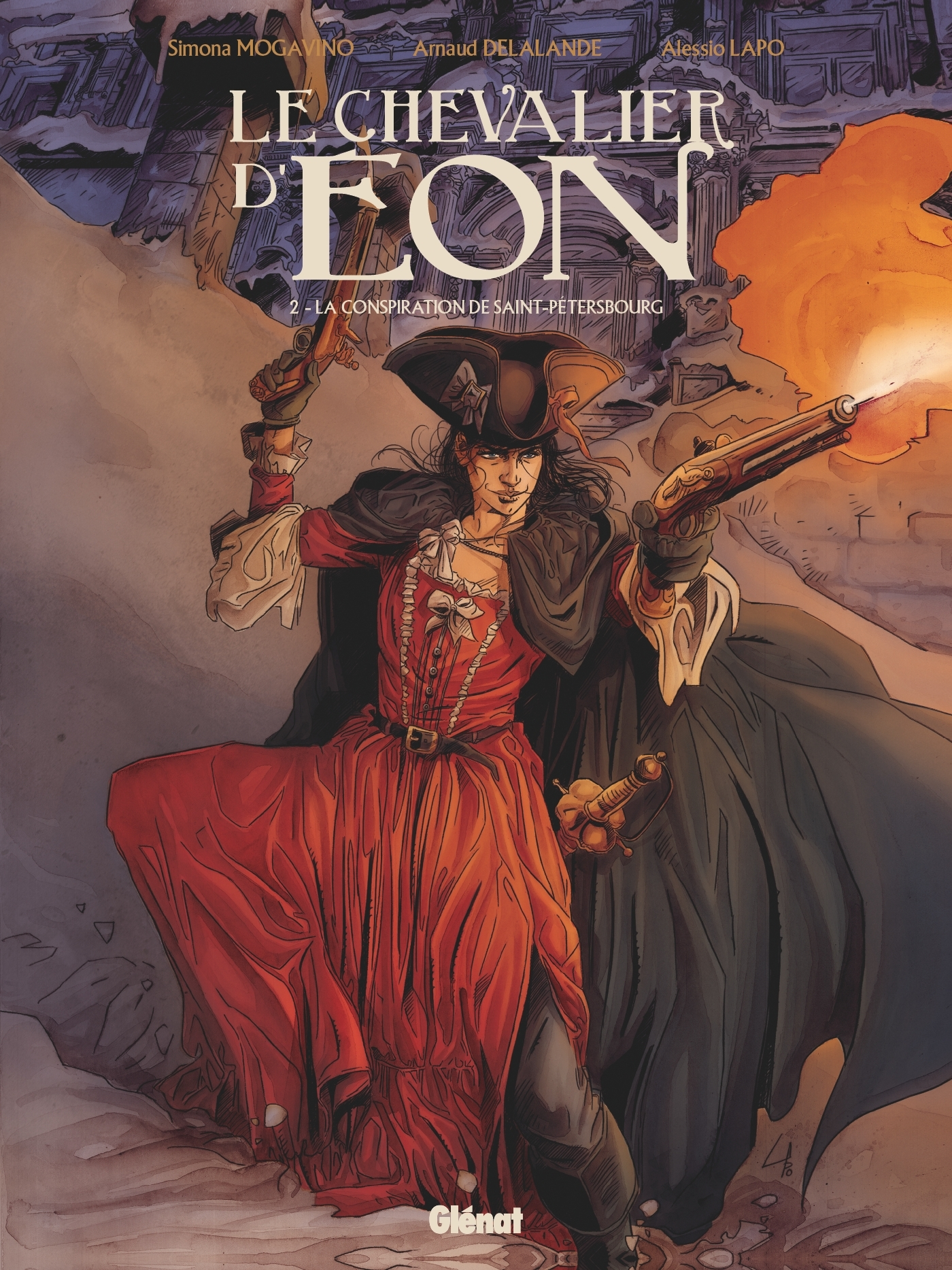 LE CHEVALIER D'EON - TOME 02 - LA CONSPIRATION DE SAINT-PETERSBOURG