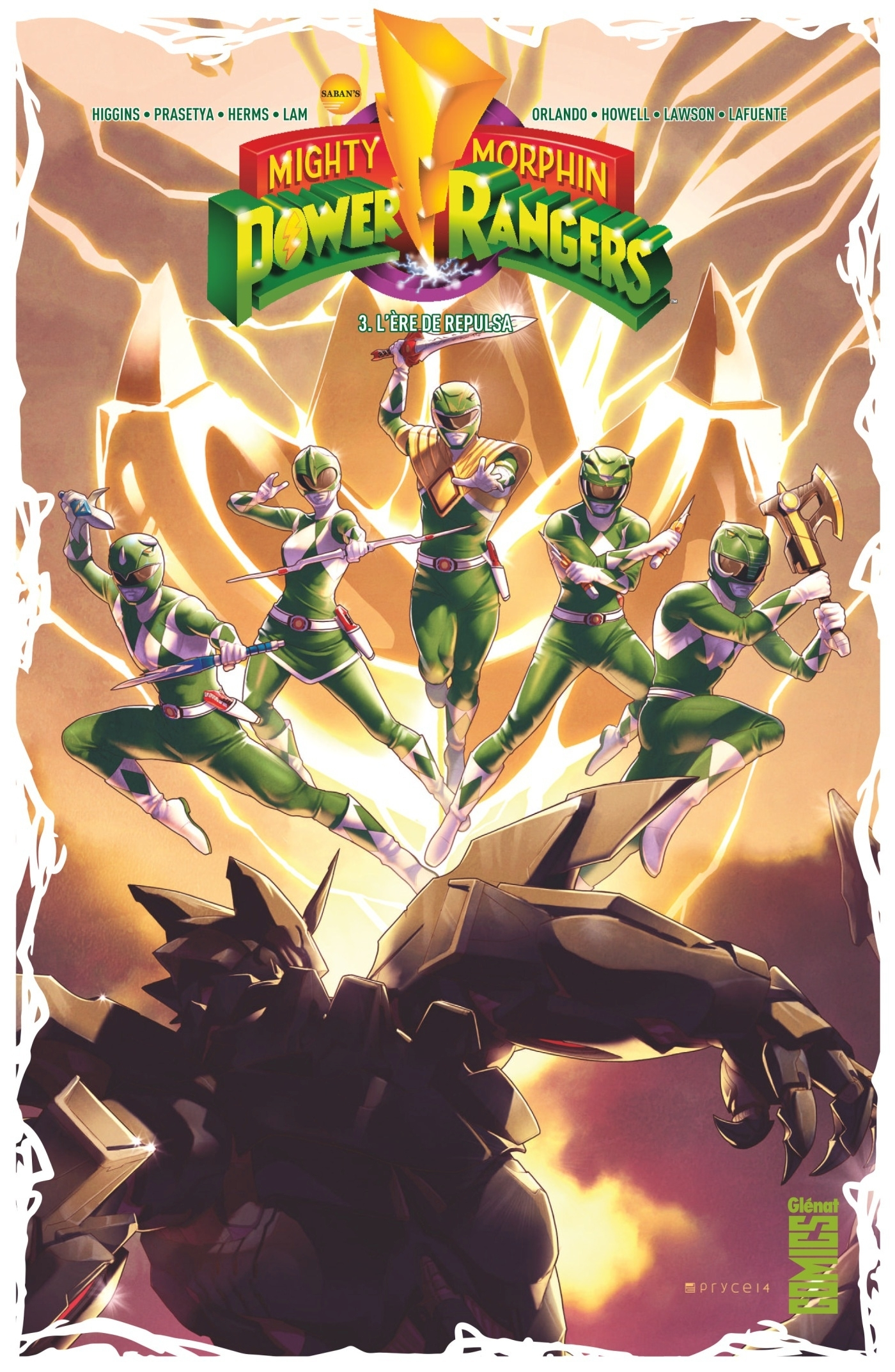 POWER RANGERS - TOME 03 - L'ERE DE REPULSA