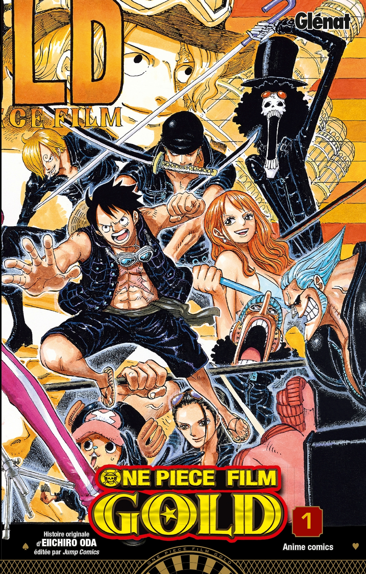 ONE PIECE - GOLD - TOME 01