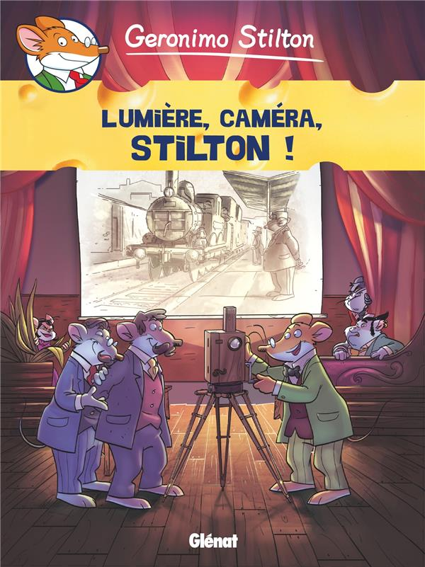 GERONIMO STILTON - TOME 16 - SILENCE, ON TOURNE !