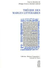 THEORIES DES MARGES LITTERAIRES
