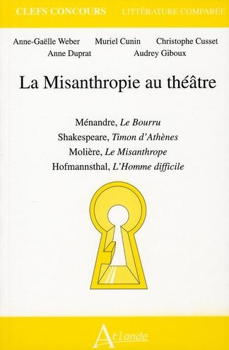MISANTHROPIE AU THEATRE