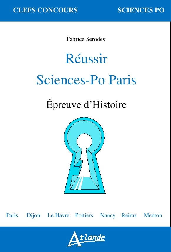 REUSSIR SCIENCES-PO PARIS