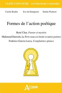 FORMES DE L'ACTION POETIQUE