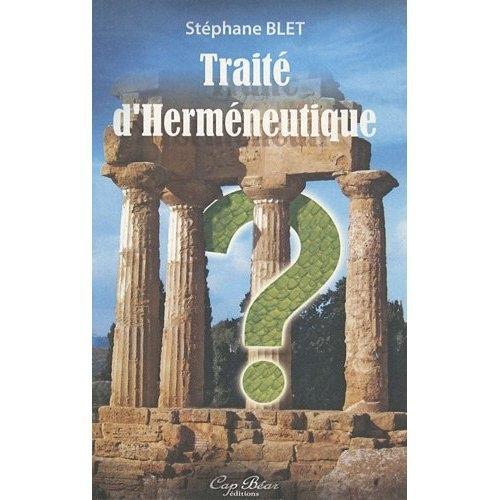TRAITE D'HERMENEUTIQUE